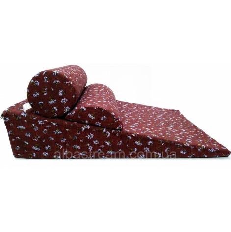Купить Комплект Комфорт клиновидная подушка рефлюкс 17 см (R-1-03023). Изображение №1