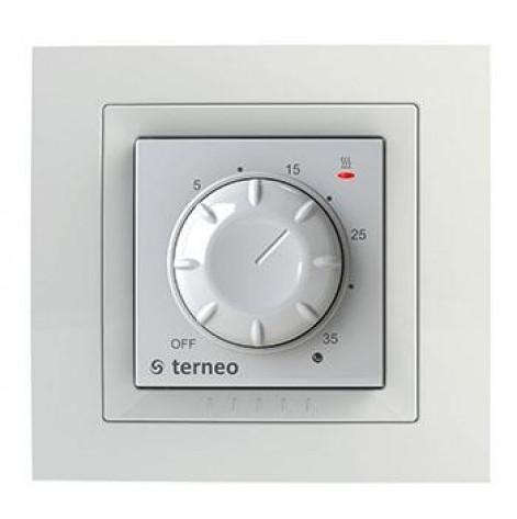 Купить Терморегулятор Terneo ROL механическое управление, IP20, белый (terneo_rol). Изображение №1