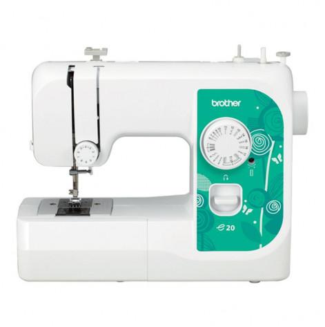 Купить Швейная машина Brother E20, электромех., 17 швейных операций, 50 Вт (B-E20). Изображение №1