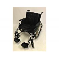 Инвалидная коляска каталка кресло Немецкая Breezy, особо широкая, усиленная, сиденье 52 см