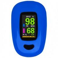 Пальцевый пульсоксиметр A3-BLUE. Сертифицированный