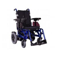 Инвалидная коляска с электромотором PCC складная дальность: до 35 км, скорость: до 8 км/ч  Ортопедическая подушка для коляски в ПОДАРОК.