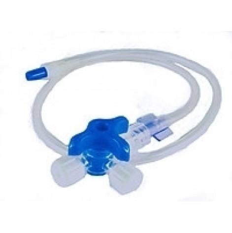 """Купить Система (блок) с 3 краников 3-ходовых """"MEDICARE"""" для инфузионной терапии (4249). Изображение №1"""