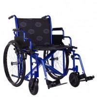 Купить Инвалидная  коляска усиленная Millenium HD 60см Ортопедическая подушка для коляски в ПОДАРОК. (OSD-STB2HD-60). Изображение №1