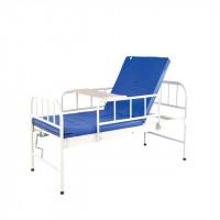 Медицинская 2-секционная кровать для больницы, клиники, дома