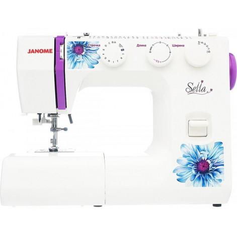 Купить Швейная машина Janome Sella, электромех, 25 швейных операций, 60Вт (J-SELLA). Изображение №1