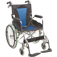 Купить Инвалидная коляска облегченная Ортопедическая подушка для коляски в ПОДАРОК. (G503). Изображение №1