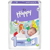 Подгузники Bella Baby Happy Newborn (2-5кг), 42шт