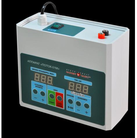 Купить Аппарат для гальванизации и электрофореза поток-01м с сенсорным управлением медицинский (поток-01м). Изображение №1