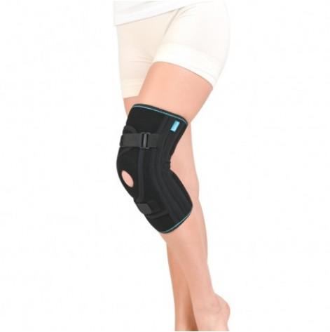 Купить Бандаж для фиксации коленной чашечки неопреновый (черный) р.5 (4038.5чор). Изображение №1