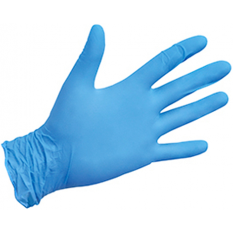 Купить Перчатки смотровые виниловые «MEDICARE» (нестерильные, а не текстурированные, без пудры) размер XL (5130). Изображение №1