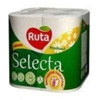 папір  туалетний Ruta Selecta 8шт біли..