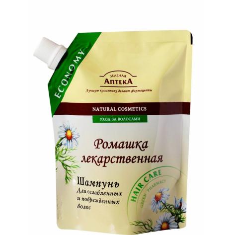 Купить Зеленая аптека шампунь (ромашка) 200 мл (73629). Изображение №1