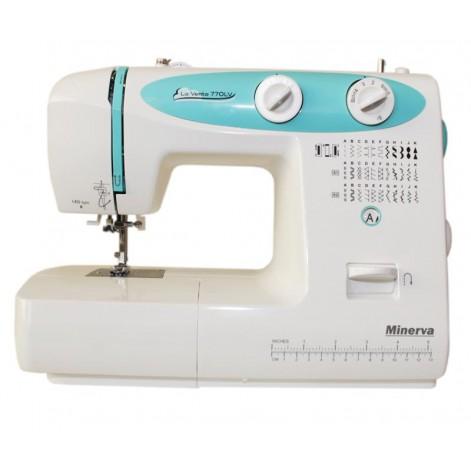 Купить Швейная машина МINERVA LA VENTO LV770, 70 Вт , 32 швейные операции (M-LV770). Изображение №1