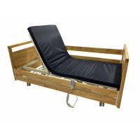 Электрическая деревянная медицинская многофункциональная кровать с 3 функциями MED1-СT03 (видеообзор)
