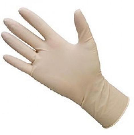 Купить Перчатки хирургические «MEDICARE» (нестерильные, с пудрой, текстурированные, с валиком на манжете) размер 8,5 (0.000). Изображение №1
