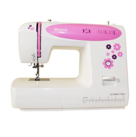 Купить Швейная машина МINERVA LA VENTO LV710, 70 Вт, 10 швейных операций (M-LV710). Изображение №1