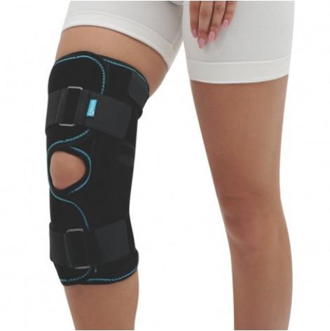 Купить Бандаж (отрез) коленного сустава (черный) р.4 (3052.4чор). Изображение №1