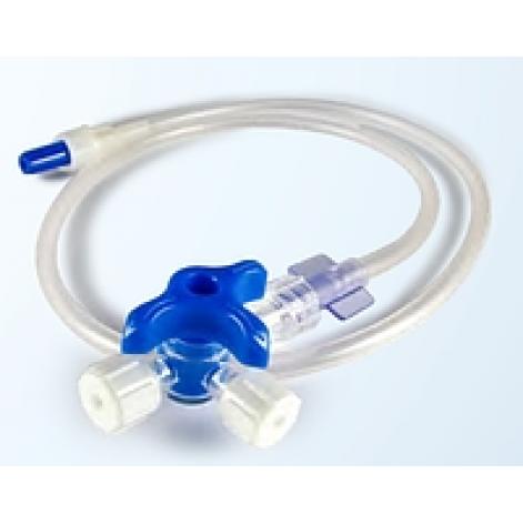 Купить Удлинитель инфузионных насосов с трехходовым краником, LUER-LOCK (PPIR3 7/10/20/90/150LL). Изображение №1