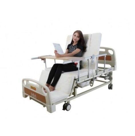Купить Медицинская кровать с туалетом E20. Электро Кровать. Функциональная кровать. Для реабилитации инвалида. (0002). Изображение №1