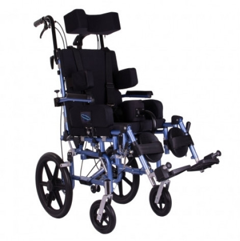 Купить Инвалидная коляска детская реабилитационная Junior для детей з ДЦП  Ортопедическая подушка для коляски в ПОДАРОК. (RE-MOD-MK-2200). Изображение №1