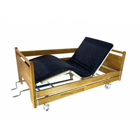 Купить Механическая деревянная медицинская многофункциональная кровать  MED1-СT07 (видеообзор) (MED1-СT07). Изображение №1