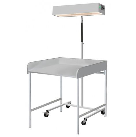 Купить Облучатель для верхнего обогрева младенца с пеленальным столиком лво-02 медицинский (920). Изображение №1