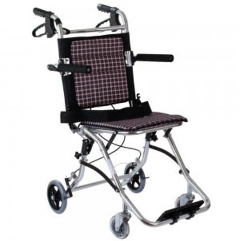 Купить Инвалидная каталка транзитная складная  Ортопедическая подушка для коляски в ПОДАРОК. (OSD-MOD-7). Изображение №1
