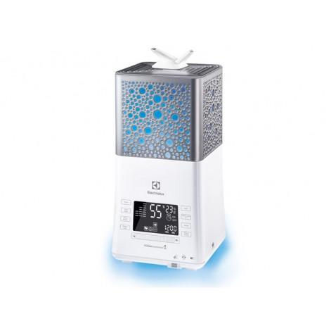 Купить Увлажнитель воздуха Electrolux EHU-3815D ультразвуковой,  6.3 л, 50м2, ионизатор,аромакапсула,белый (EHU-3815D). Изображение №1