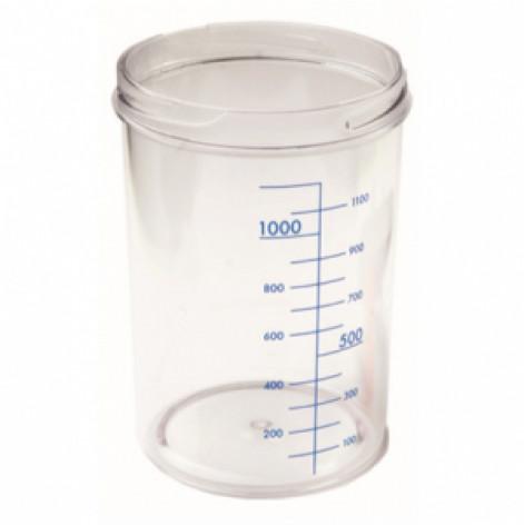 Купить Емкость для аспиратора без крышки, 4 л, RE-21000 (RE-210007). Изображение №1