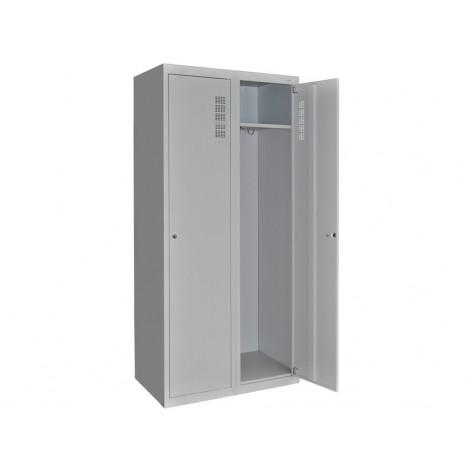 Купить Шкаф для халатов медицинский двухстворчатый шхм-2 (1034). Изображение №1