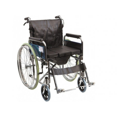 Купить Инвалидная коляска с туалетом Golfi G120 Ортопедическая подушка для коляски в ПОДАРОК. (G120). Изображение №1