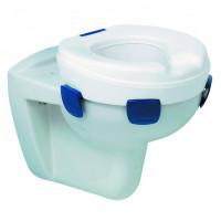Туалетный подъемник CLIPPER ІІ с фиксаторами (сиденья  унитаза) Н = 150 мм