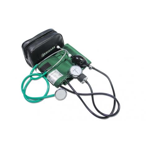 Купить Аппарат для измерения кровяного давления (сфигмоманометр) MEDICARE (три манжеты) (4791). Изображение №1