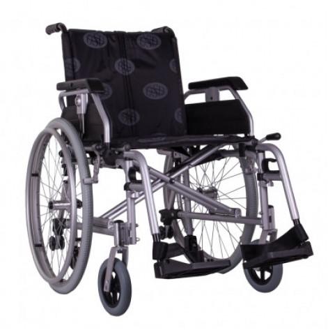 Купить Инвалидная коляска облегченная алюминиевая Light-III Ортопедическая подушка для коляски в ПОДАРОК. (OSD-LWS2-**). Изображение №1