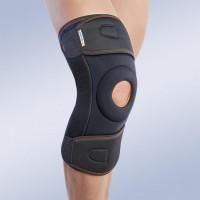 7120/1 Ортез на коленный сустав обращен вокруг колена черный длинный (p.S)