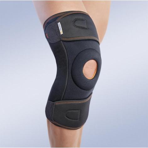 Купить 7120/1 Ортез на коленный сустав обращен вокруг колена черный длинный (p.S) (7120/1). Изображение №1