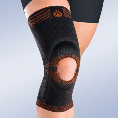Купить 9105/7 Ортез на коленный сустав с силиконовой подушечкой (p.XXXL) (9105/7). Изображение №1