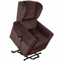 Подъемное кресло с двумя моторами (коричневое) OSD-BERGERE AD05-1LD