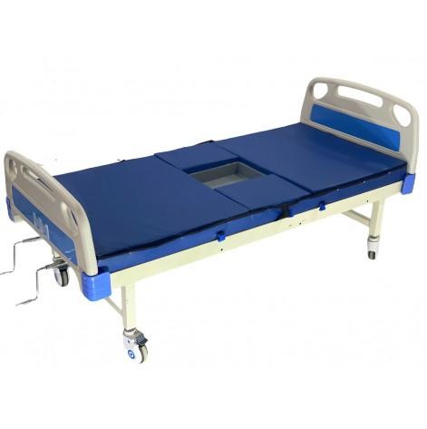 Купить Медицинская кровать с туалетом (санитарным устройством) (MED1-ALBS2). Изображение №1