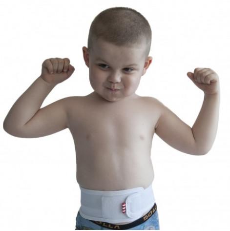 Купить Бандаж противогрыжевый пупочный kids (серый) р.1 (2035.1Ксір). Изображение №1