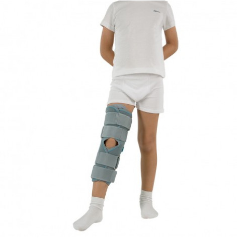 Купить Бандаж (тутор) на коленный сустав kids (серый) р.3 (3013.3Ксір). Изображение №1