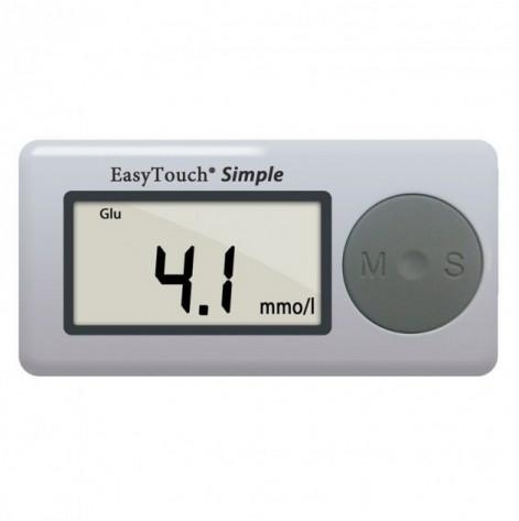 Купить Аппарат EasyTouch для измерения уровня глюкозы в крови (без кодировки) (4798). Изображение №1