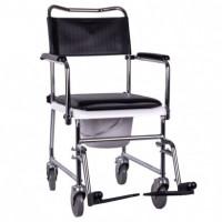 Кресло-каталка с туалетом JBS (колеса 5 дюймов) Стул-туалет