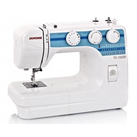 Купить Швейная машина Janome TC-1222s, 25 швейных операций, 60 Вт (J-TC1222S). Изображение №1