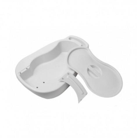 Купить Судно медицинское подкладное пластмассовое (с крышкой) Гамма (68169). Изображение №1
