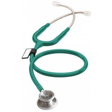 Купить Стетоскоп для младенцев MDF 777I 09 стальной с двойной головкой Зеленый (777I 09). Изображение №1