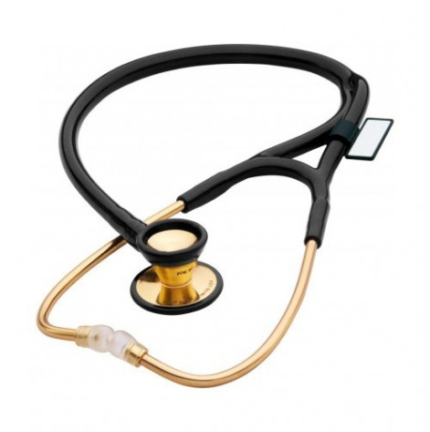 Купить Стетоскоп кардиологический золотой MDF 797K 11 Черный (797K-11). Изображение №1