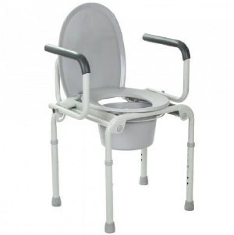 Купить Стальной стул-туалет с откидными подлокотниками OSD-2108D (OSD-2108D). Изображение №1
