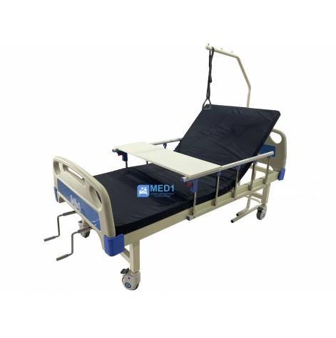 Купить Медицинская кровать 4 секционная MED1-C09 для больницы, клиники, дома. Функциональная кровать для инвалидов (MED1-C09). Изображение №1